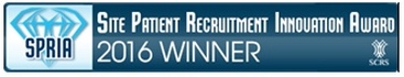 SPRIA - Site Patient Recruitment Innovation Award 2016 Winner - American Health Network